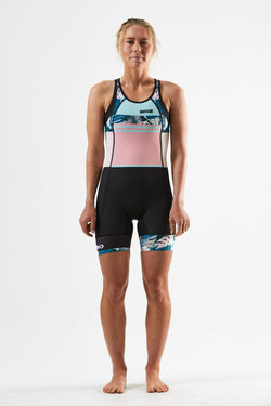 Womens AG Open Back Suit - Tropics