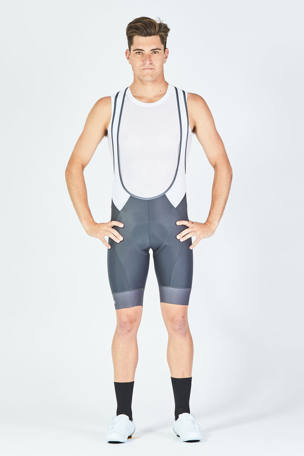 Mens Sabre Bib - Charcoal