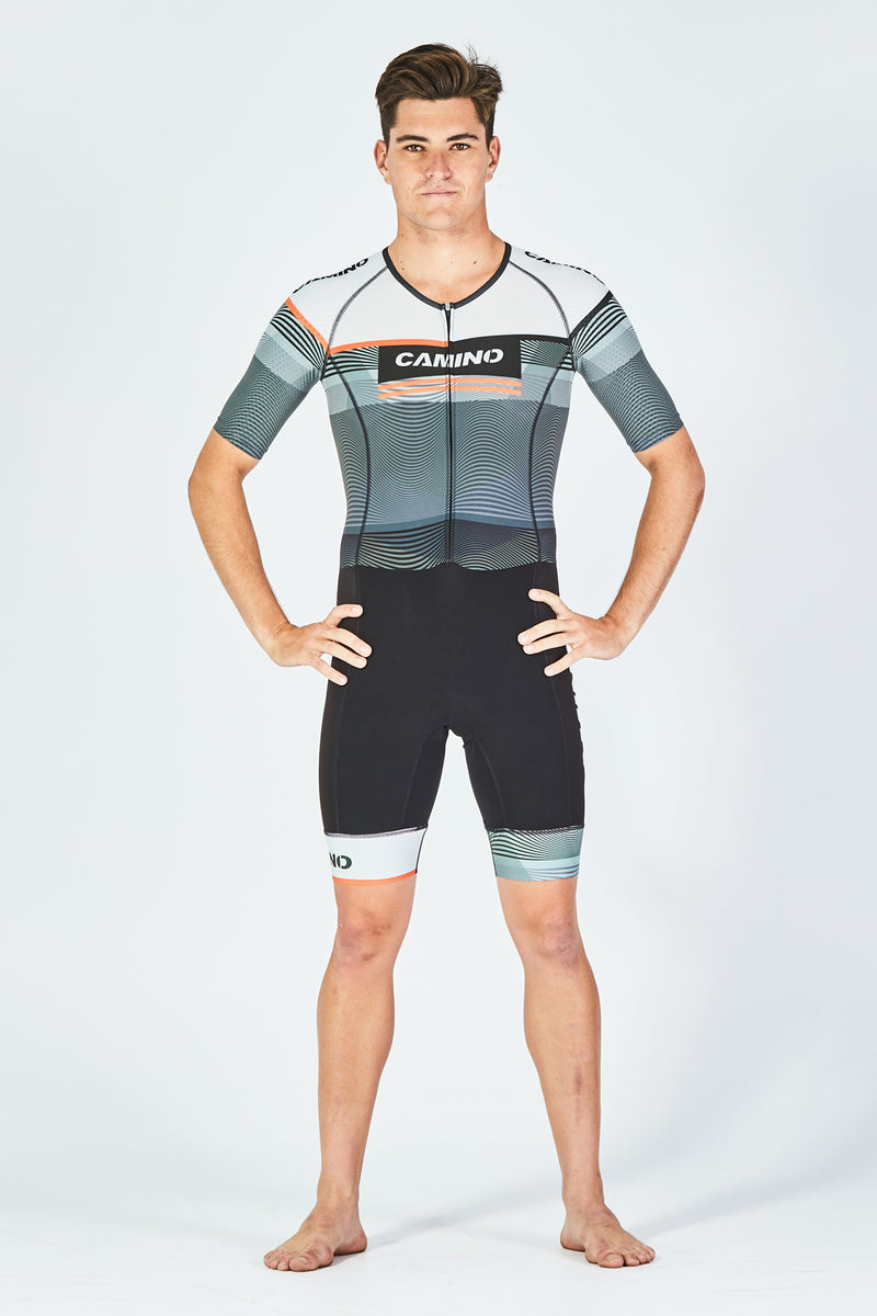 Mens Short Sleeve Suit - Frequency Pro - HEXlite