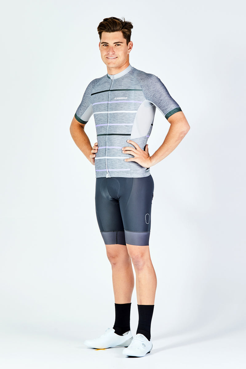 Mens Voyage Jersey - Grey Heather