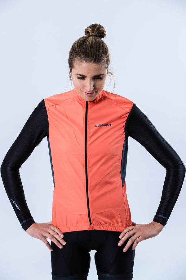 Womens Covert Wind Vest - Atomic
