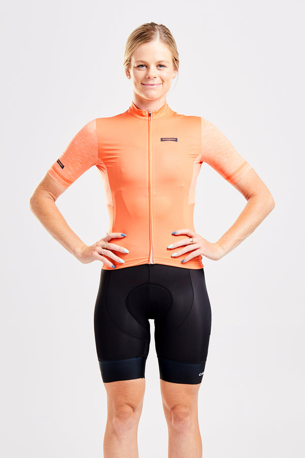 Womens Recycler Jersey - Apricot