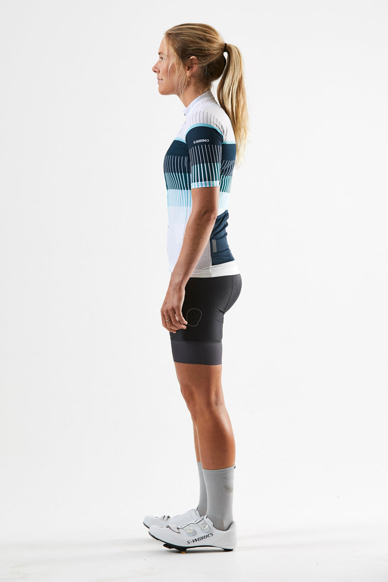 Womens Force Pro Lite Jersey - Turquoise