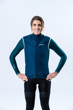 Womens Covert Wind Vest - Navy