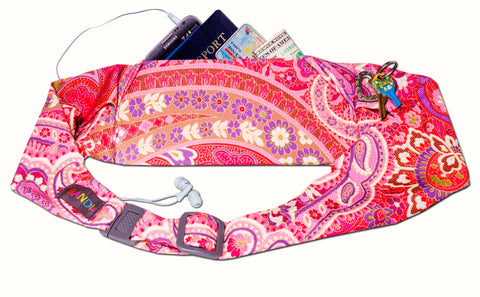BANDI Belt Paisley Blush Large