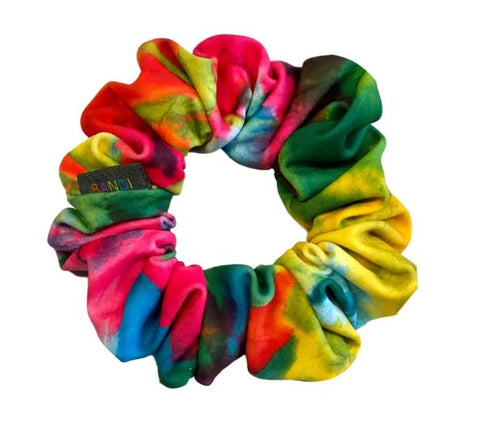 BANDI Tie-Dye Sunrise Scrunchie