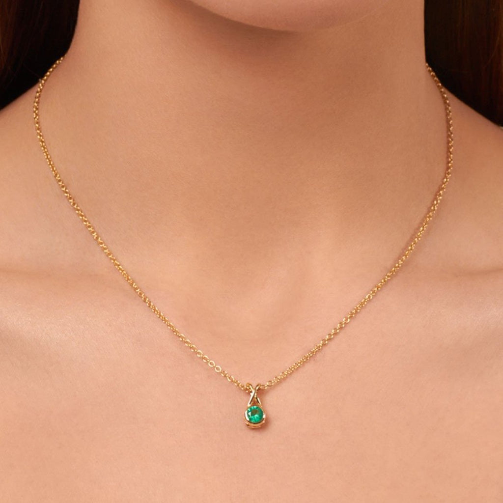 Mondoro Necklace - Emerald