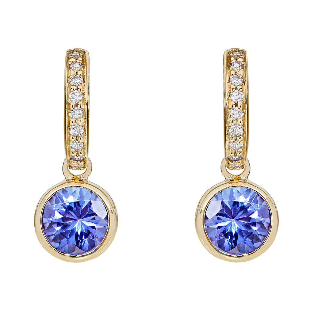 Twa Detachable Droplets - Tanzanite