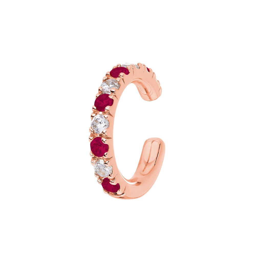 AYA Ruby and Diamond Cuffs