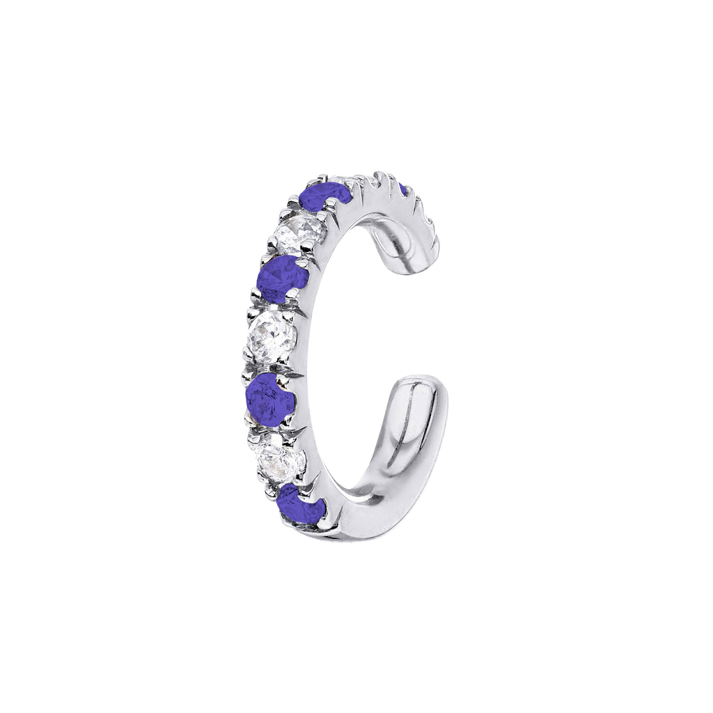 AYA Tanzanite and Diamond Cuff