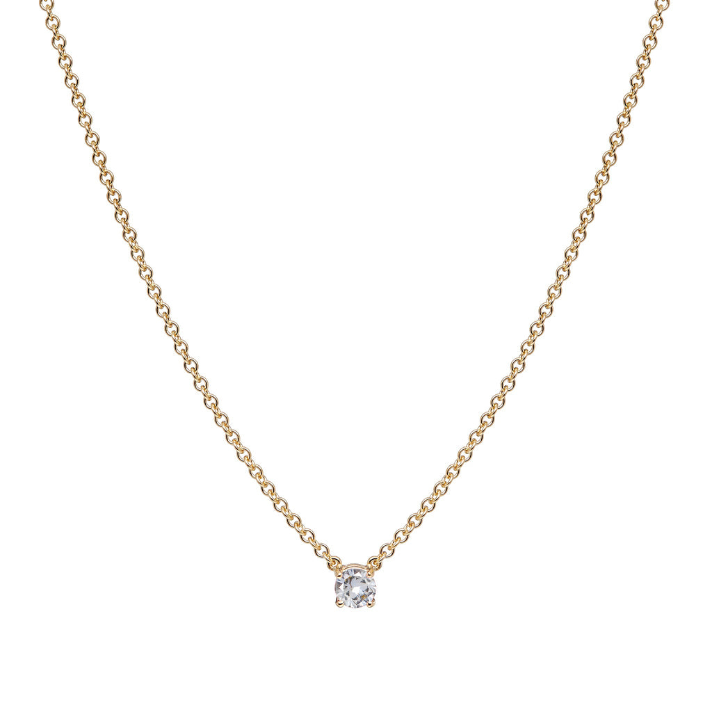 Mana Necklace - White Sapphire