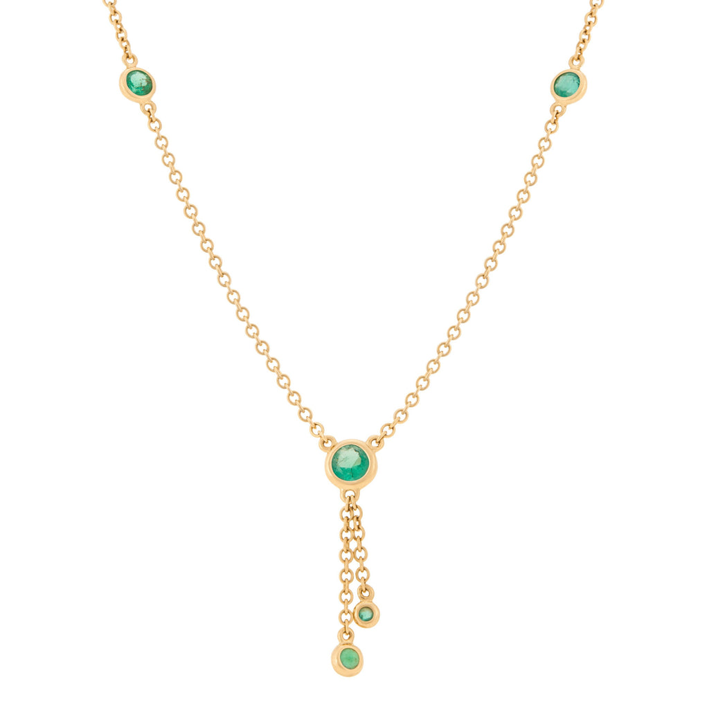 Kariba Necklace - Emerald