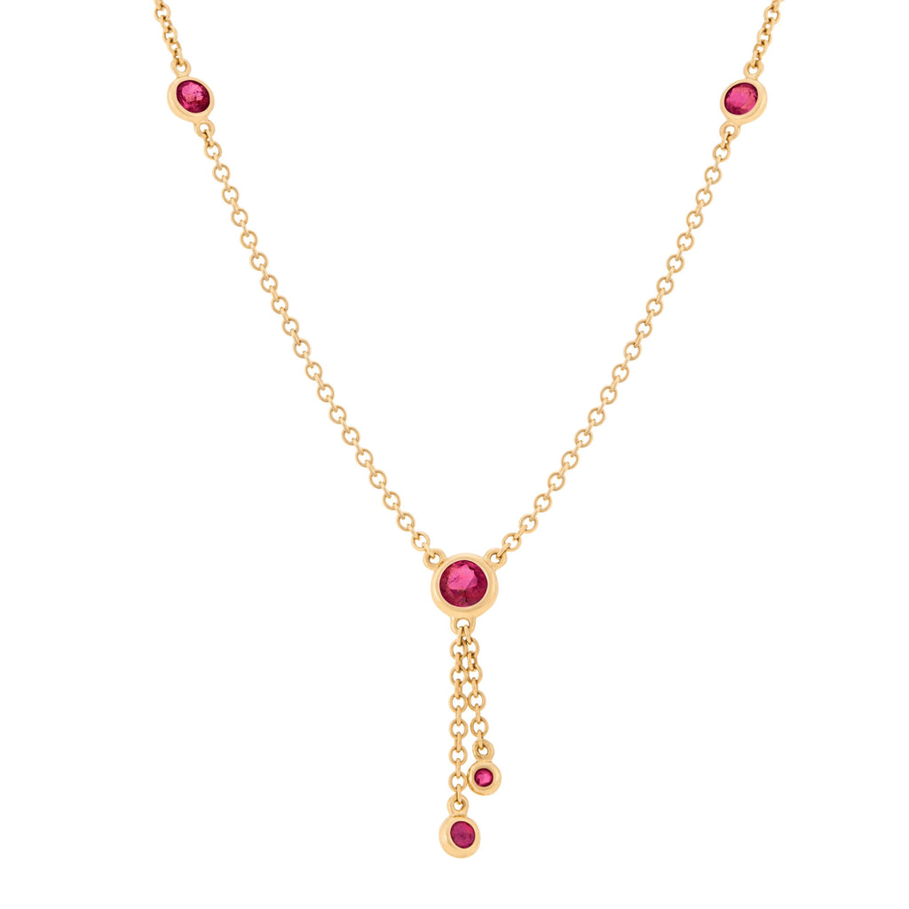 Kariba Necklace - Ruby