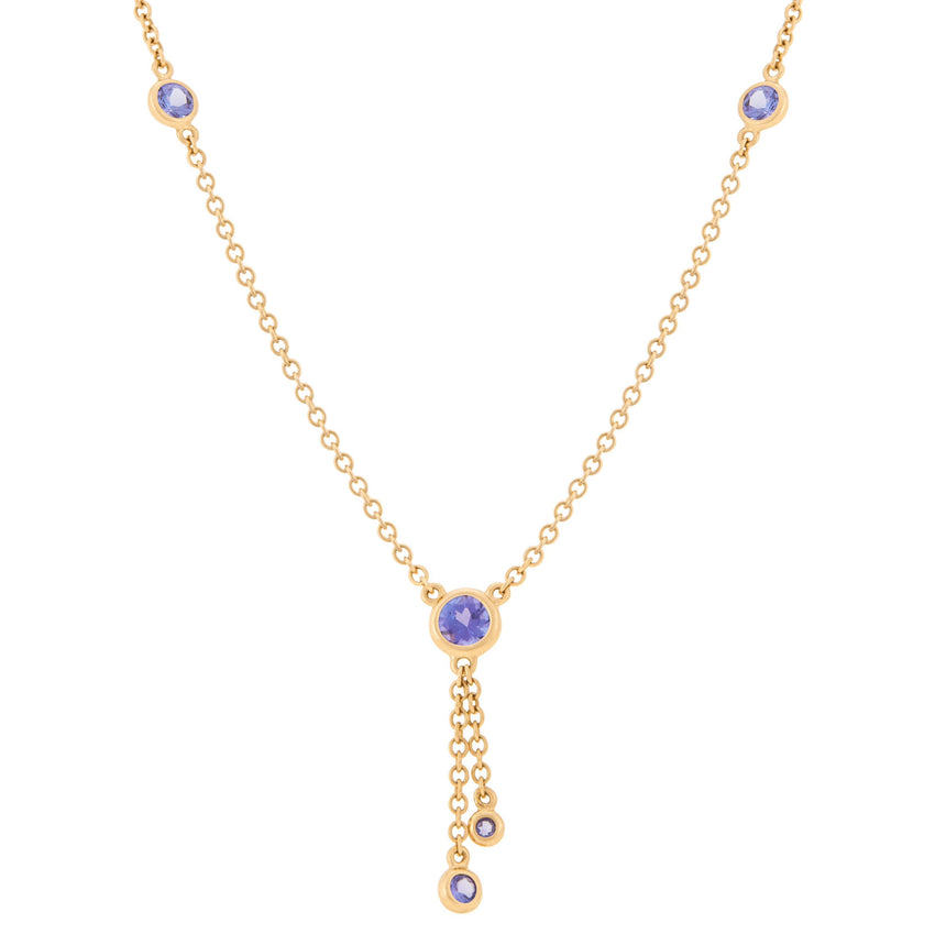 Kariba Necklace - Tanzanite