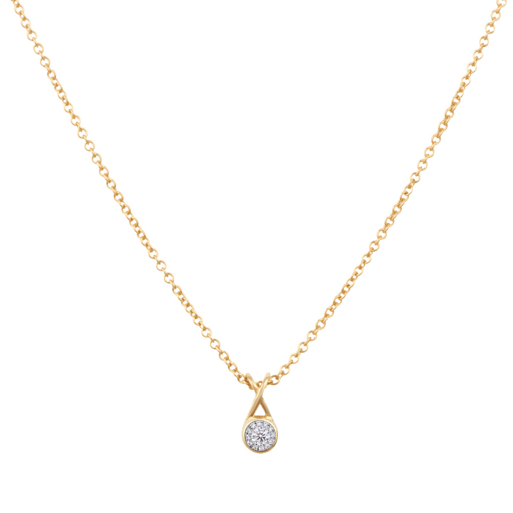 Mondoro Necklace - Diamond