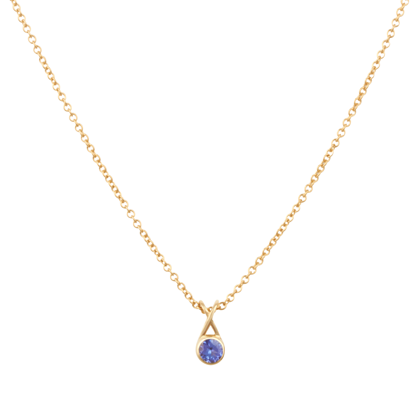 Mondoro Necklace - Tanzanite