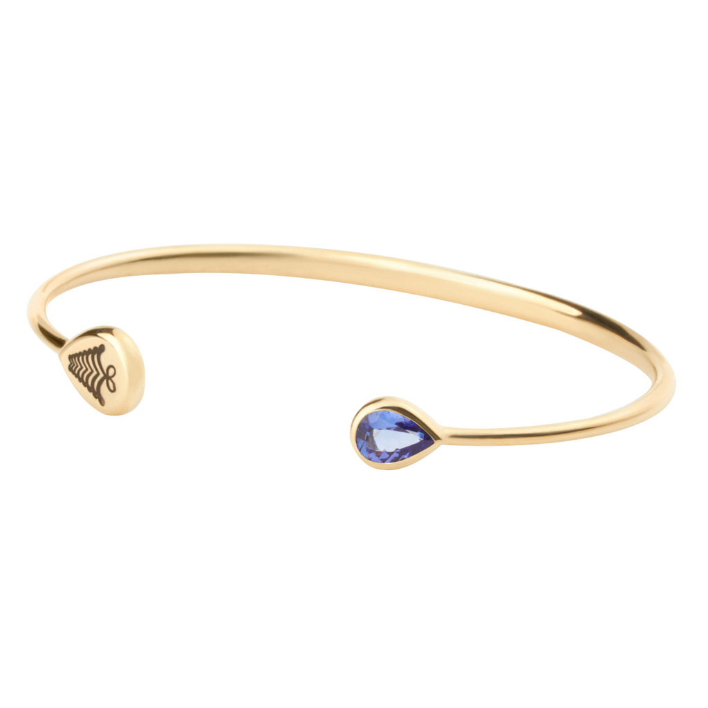 Kafue Bangle - Tanzanite