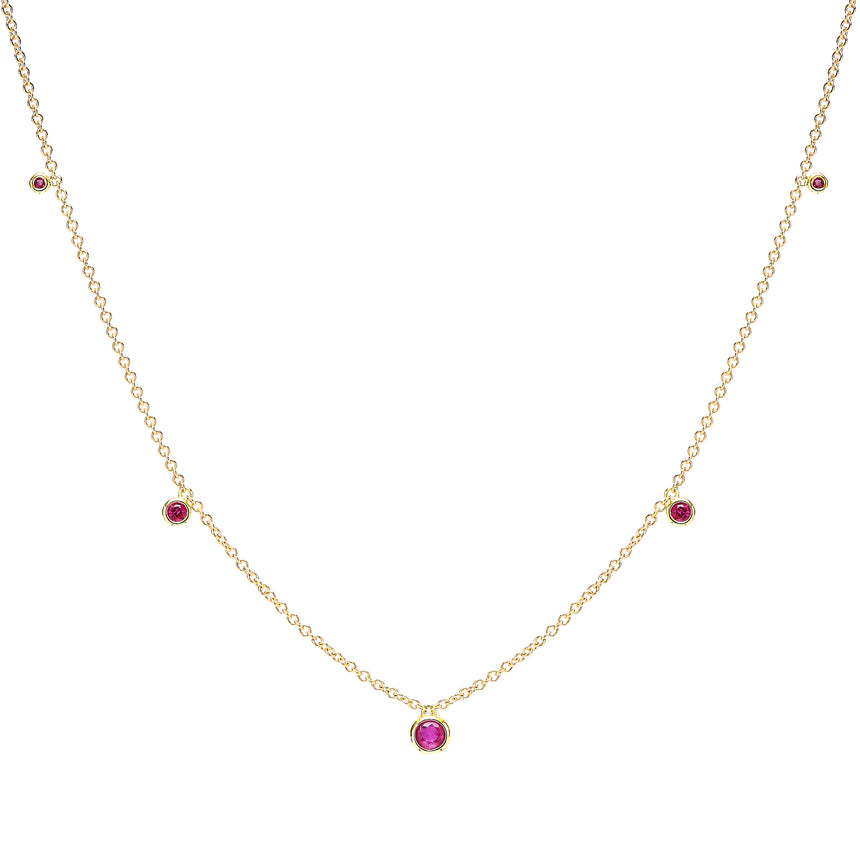 Lupata Necklace - Ruby