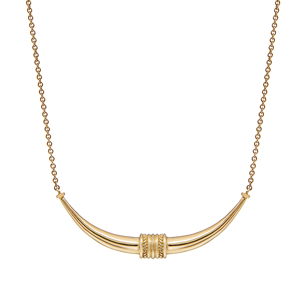 Toka-Leya Necklace - Yellow Gold