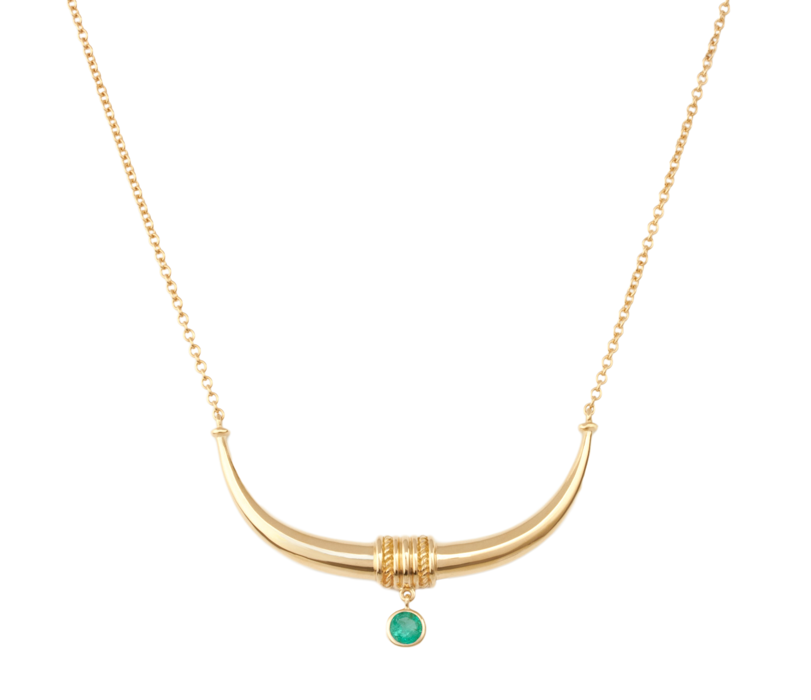 Toka-Leya Necklace - Emerald