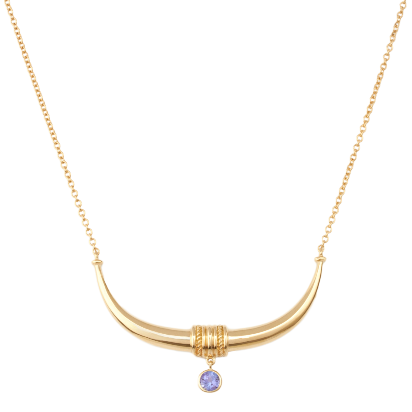 Toka-Leya Necklace - Tanzanite