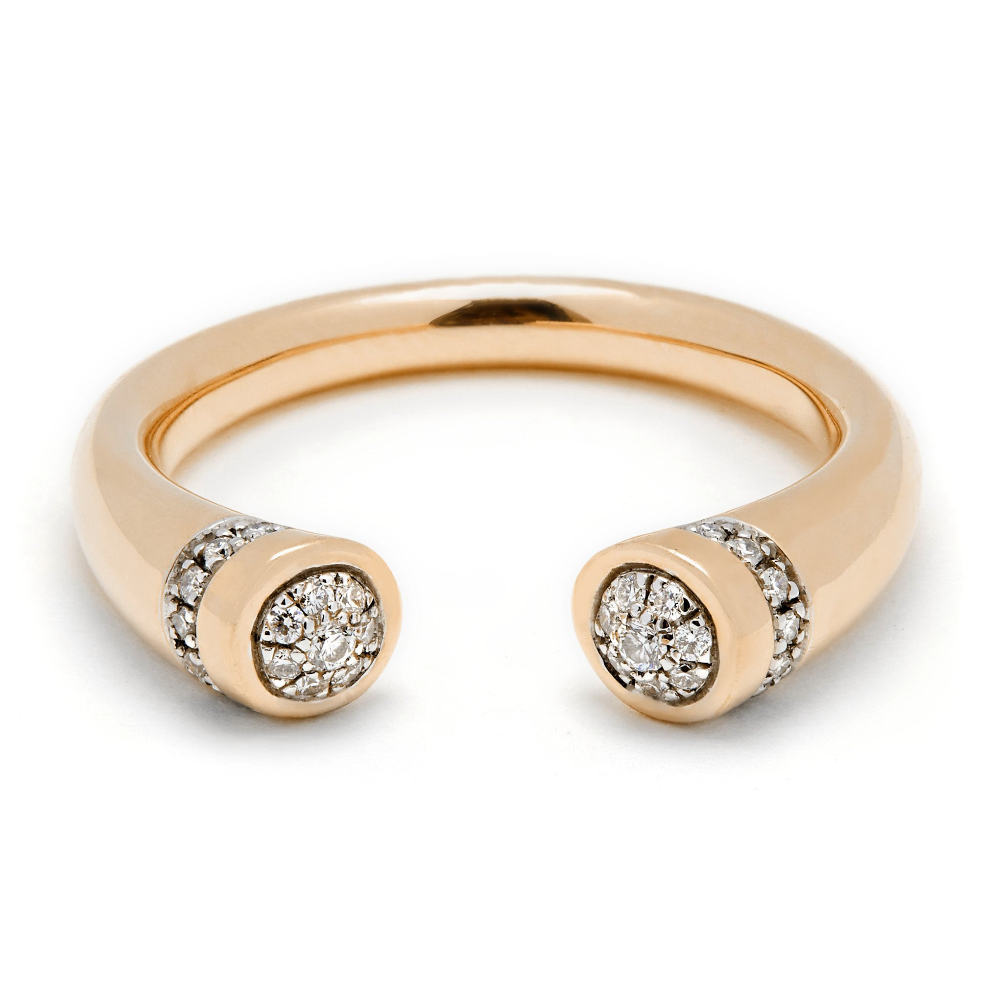 Chete Ring - Yellow Gold & Diamond