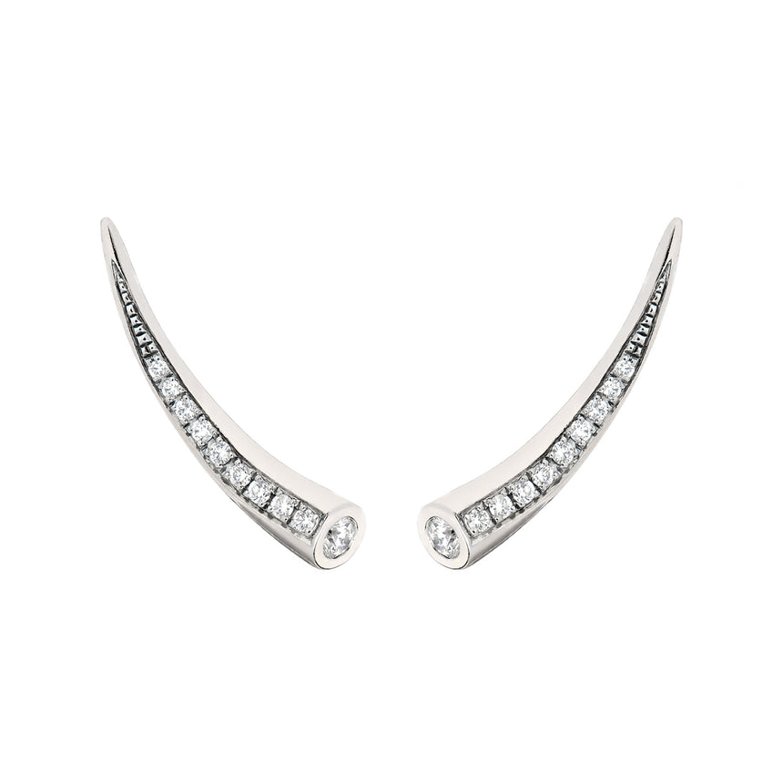 Chiawa Earrings - White Gold Diamond