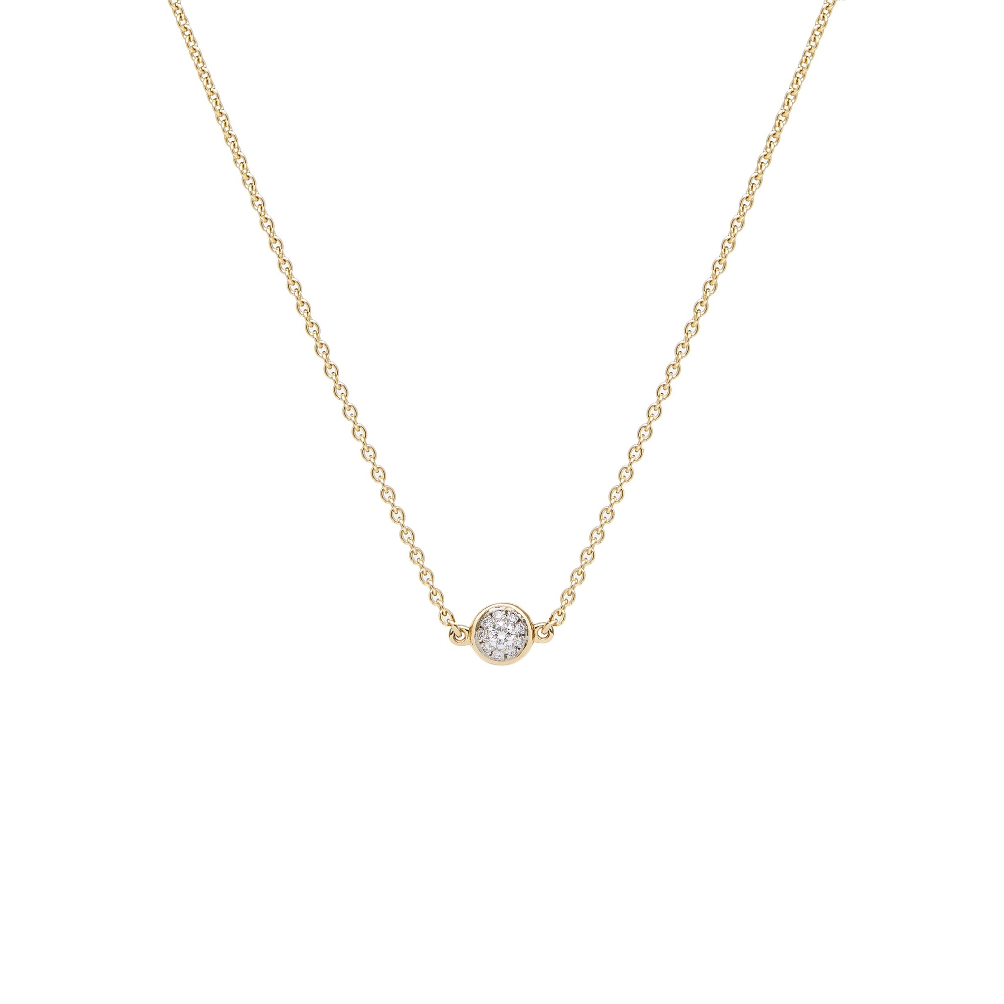Mana Necklace - Yellow Gold and Diamond