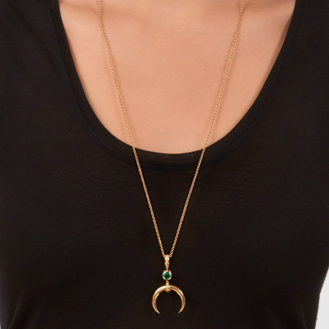 Cahora Bassa Necklace - Emerald