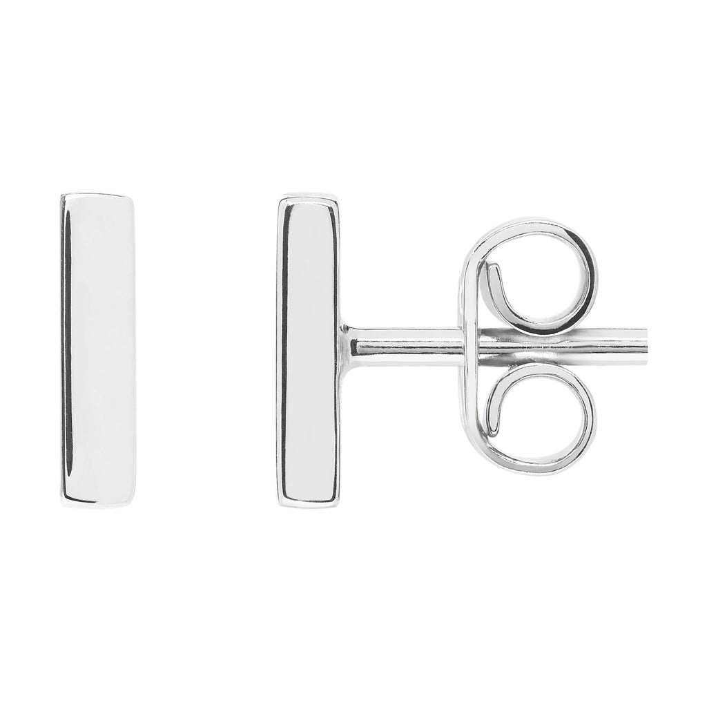 AYA Bar Studs - White Gold