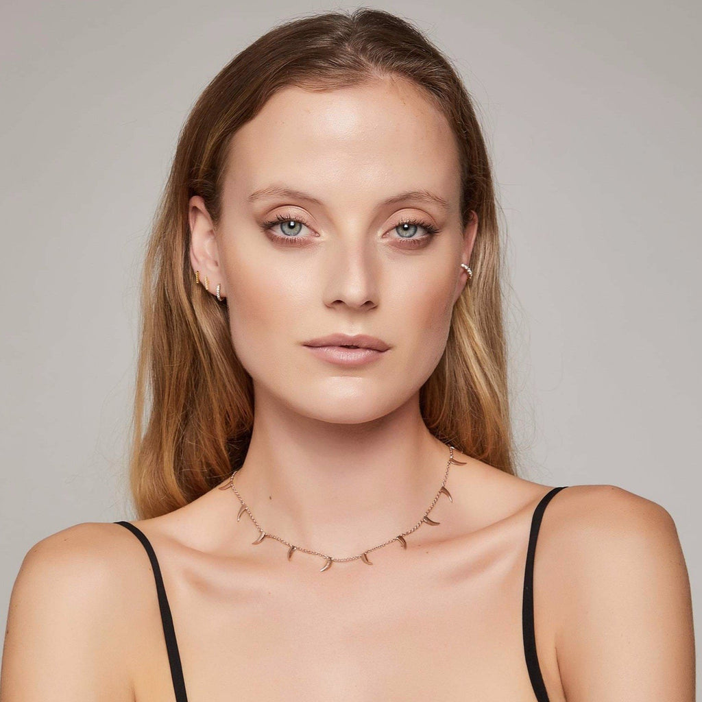 Nyami Nyami Necklace - Rose Gold