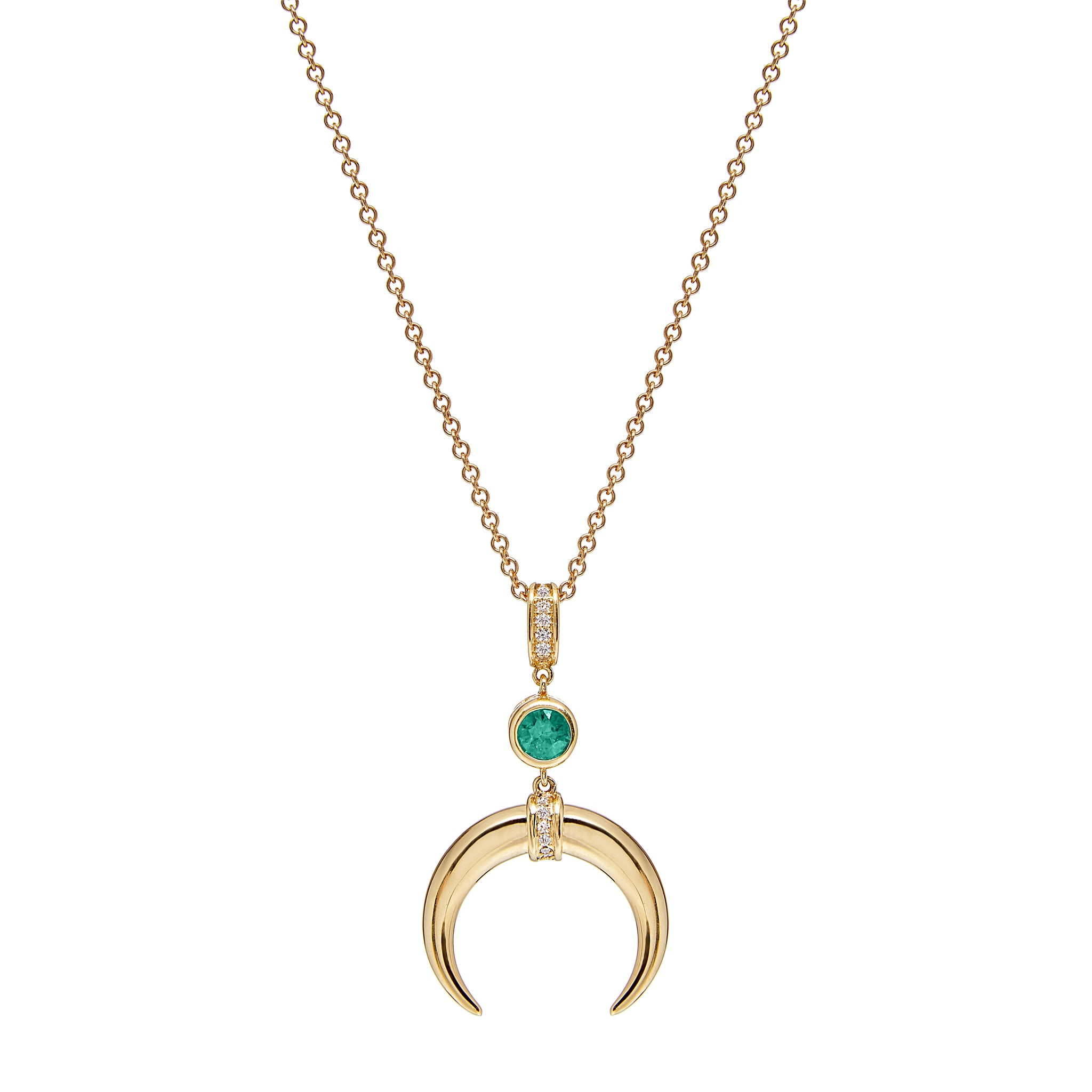 Cahora Bassa - Emerald with Diamonds