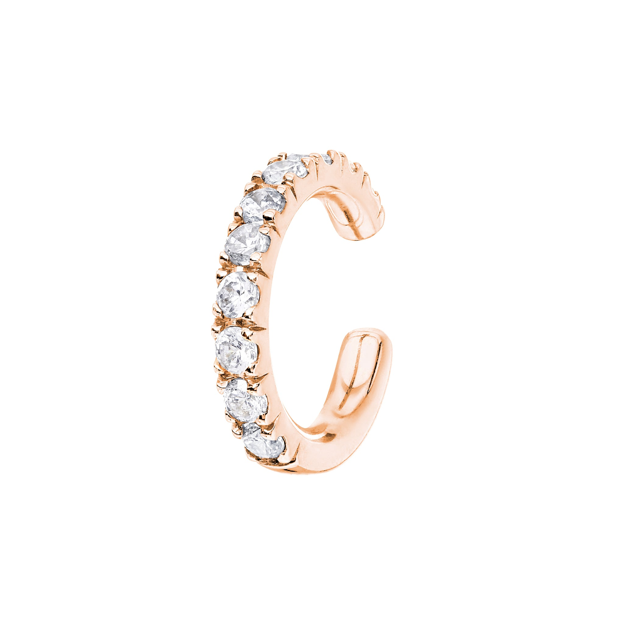 AYA Rose Gold Diamond Cuff