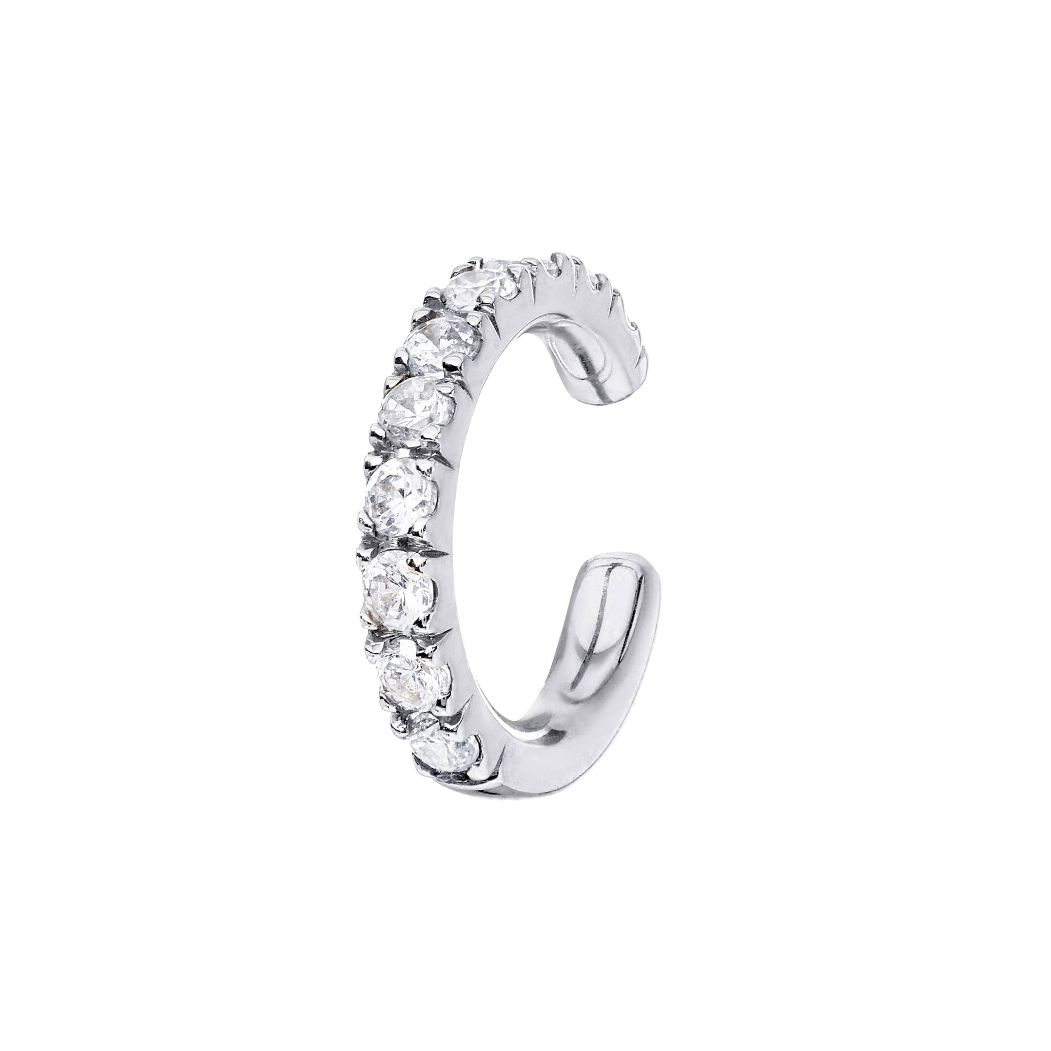 AYA White Gold Diamond Cuff