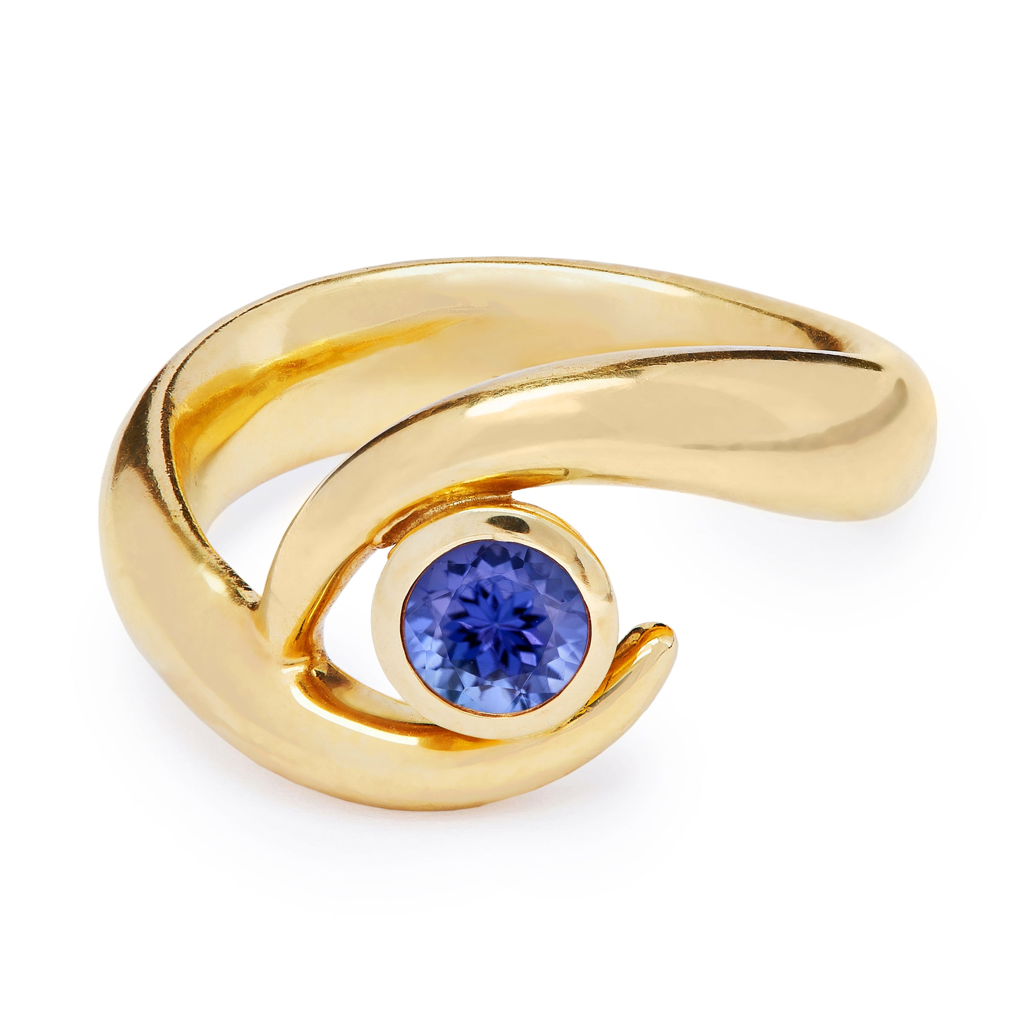 Mozambique Ring - Single Tanzanite