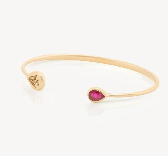 Kafue Bangle - Ruby