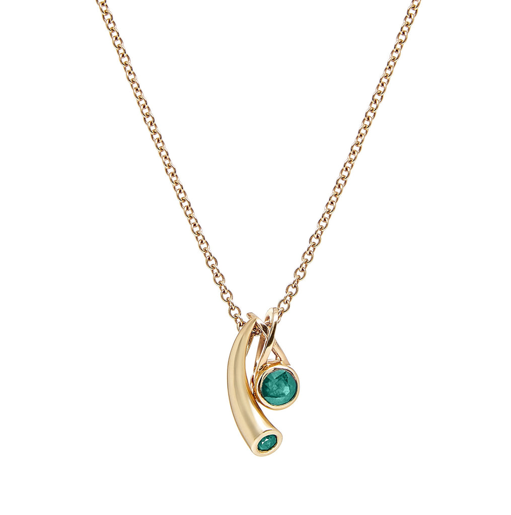 Mondoro - Tonga Necklace - Emerald