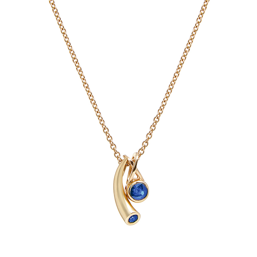 Mondoro Tonga Necklace - Tanzanite