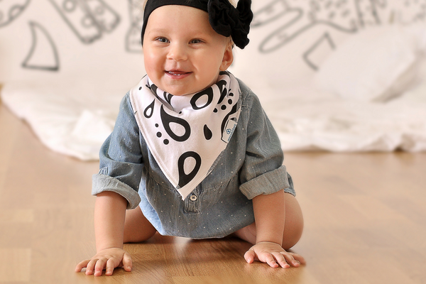 Baby Bandana Bibs for Drooling and Teething - Boys 6 pack