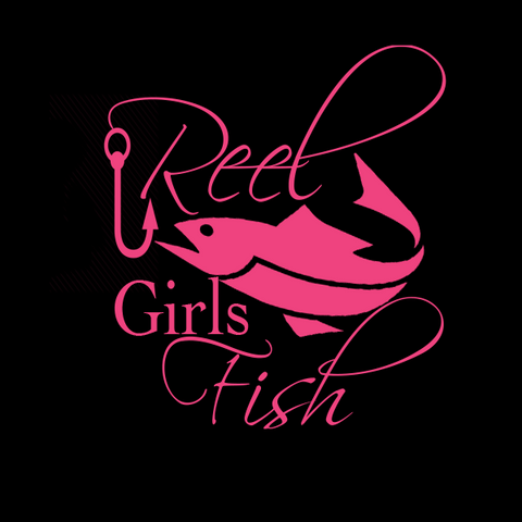 Reel Girls Fish Decals