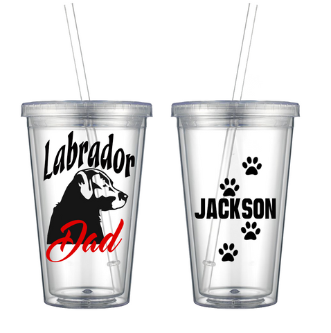 Labrador Dad - Personalized Tumbler