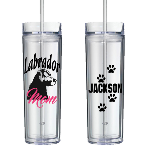 Labrador Mom - Personalized Tumbler