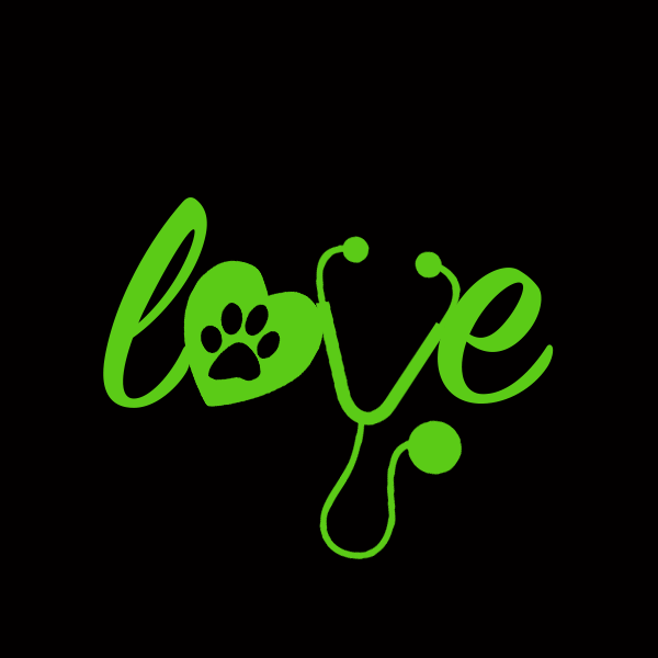 "Add A ""Love"" Veterinary Decals"