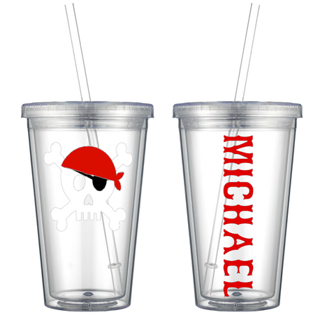 Pirate Personalized Tumbler