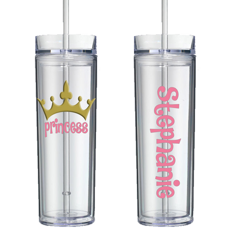 Princess Personalized Tumbler