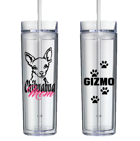 Chihuahua Mom - Personalized Tumbler