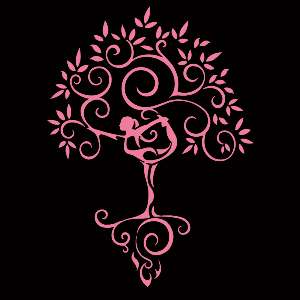 Yoga Tree Decals