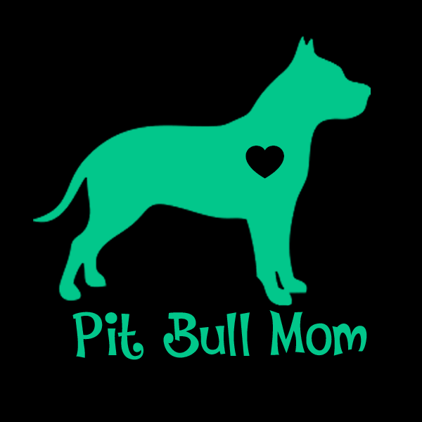 Pit Bull (Cropped Ears) Mom Decals