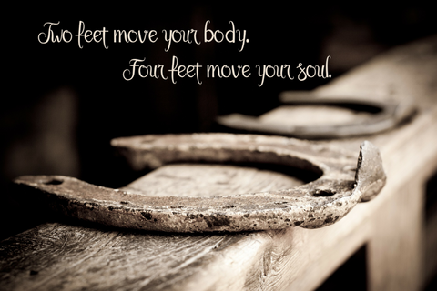 Four Feet Move Your Soul -  Canvas Print