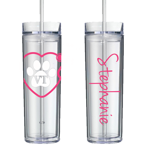 Veterinary Stethoscope Acrylic Tumbler